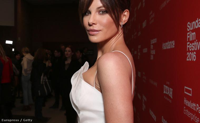 Kate Beckinsale a Sundance filmfesztiválon
