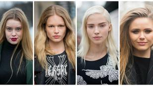Kvíz: topmodell vagy random lány?