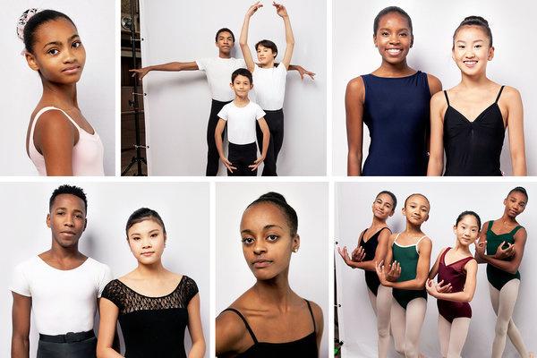 A School of American Ballet tanulói