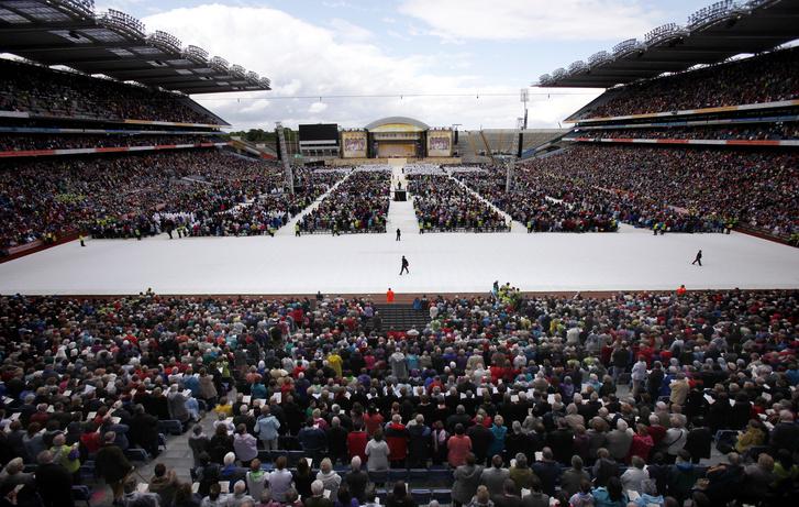 A 2012-es írországi kongresszus résztvevői