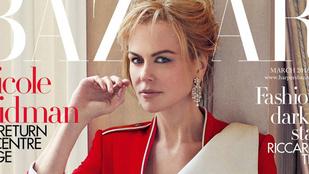 Ezen a képen állítólag Nicole Kidman látható
