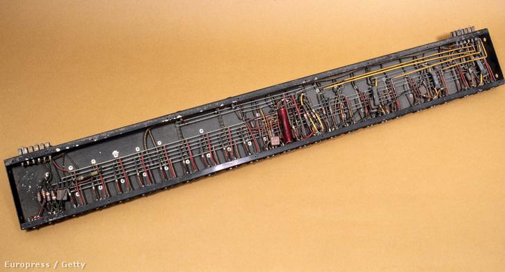 Az ENIAC befogadó egysége.