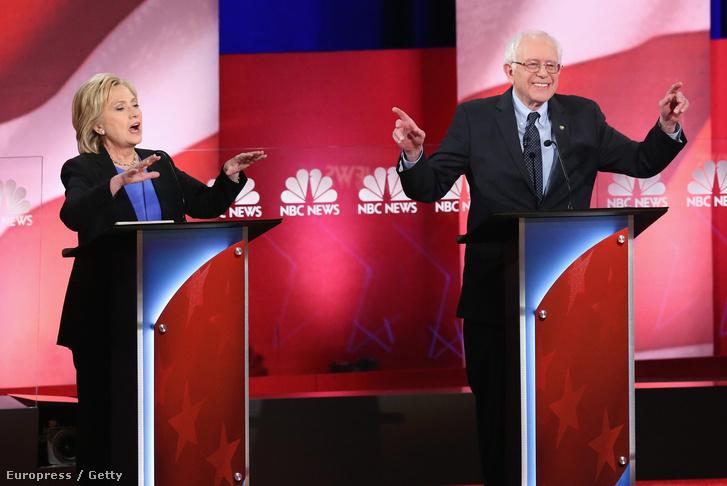 Clinton és Sanders