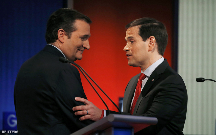 Marco Rubio és Ted Cruz