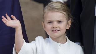 Ez a kislány annyira hasonlít a hercegnőjére, hogy nem tudja, melyik kép készült róla