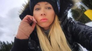 VV Seherezádé snowboard-balesetet szenvedett