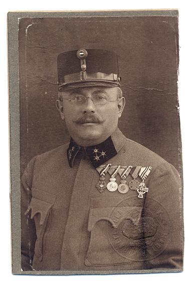 Dr. Riesz József ezredorvos