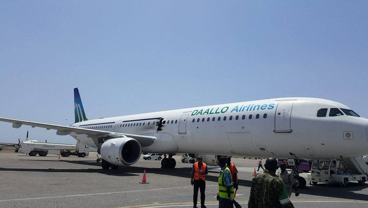 A Daallo Airlines Airbus A321-se.