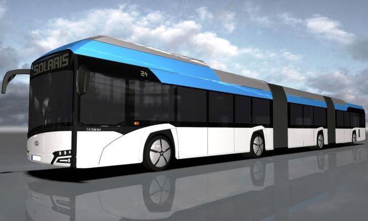A duplacsuklós, elektromos Solaris, hamarosan elkészül