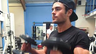Zac Efron lassan olyan lesz mint Hulk