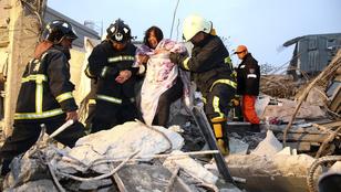 Egy csecsemő is meghalt a tajvani földrengésben
