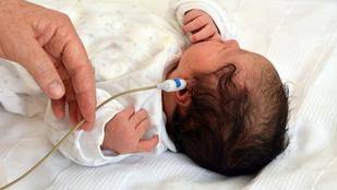 Félkilós babát mentettek meg a nógrádi mentők