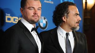 Iñárritu könnyezve mondta Leonardo DiCapriónak, hogy szereti