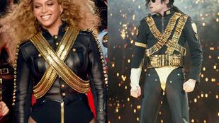 Beyoncé szakadt neccharisnyában idézte meg Jackot