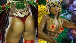 Elképesztően sok jó nő rázza a riói karneválon