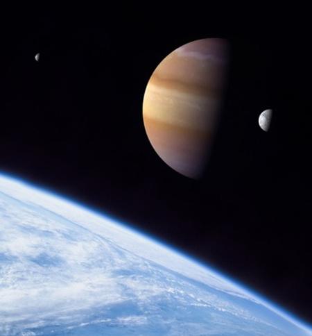 Az új szimulációk megerősítik, hogy a Kepler felfedezheti az első, exobolygók körül keringő holdakat (illusztráció: D. Durda)
