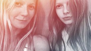 Gwyneth Paltrow lánya nagyon hasonlít az anyjára
