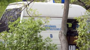 Egy női holttestet találtak egy monori vízelvezető árokban