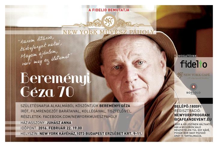 Bereményi 70 plakát