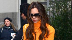 Döbbenet, Victoria Beckham nem szürkeárnyalatos ruhát vett!