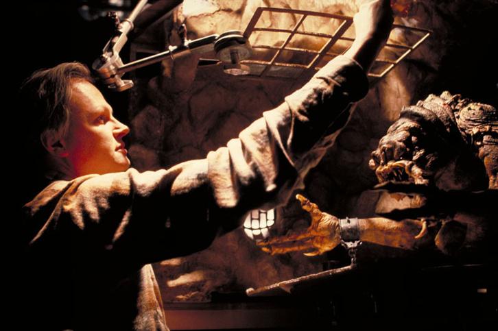 Muren A Jedi visszatér rancorjának barlanglakását csinosítgatja