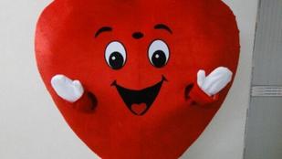 Giccses, sablonos Valentin napot mindenkinek, aki szereti!
