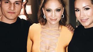 Jennifer Lopez erős dekoltázzsal búcsúzott Las Vegastól