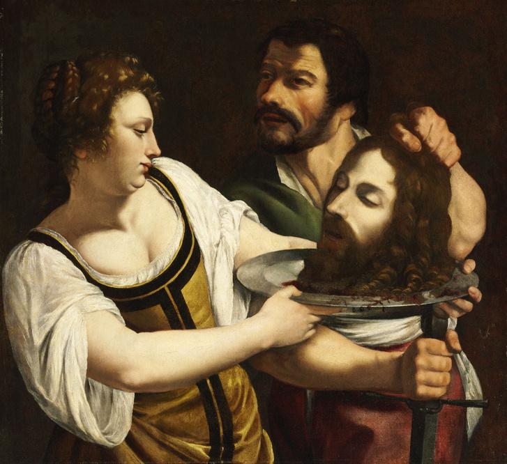 Salome átveszi Keresztelő Szent János fejét Róma 1593 – 1654 Nápoly