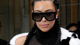 Kim Kardashian ennél már nem lehet telepibb
