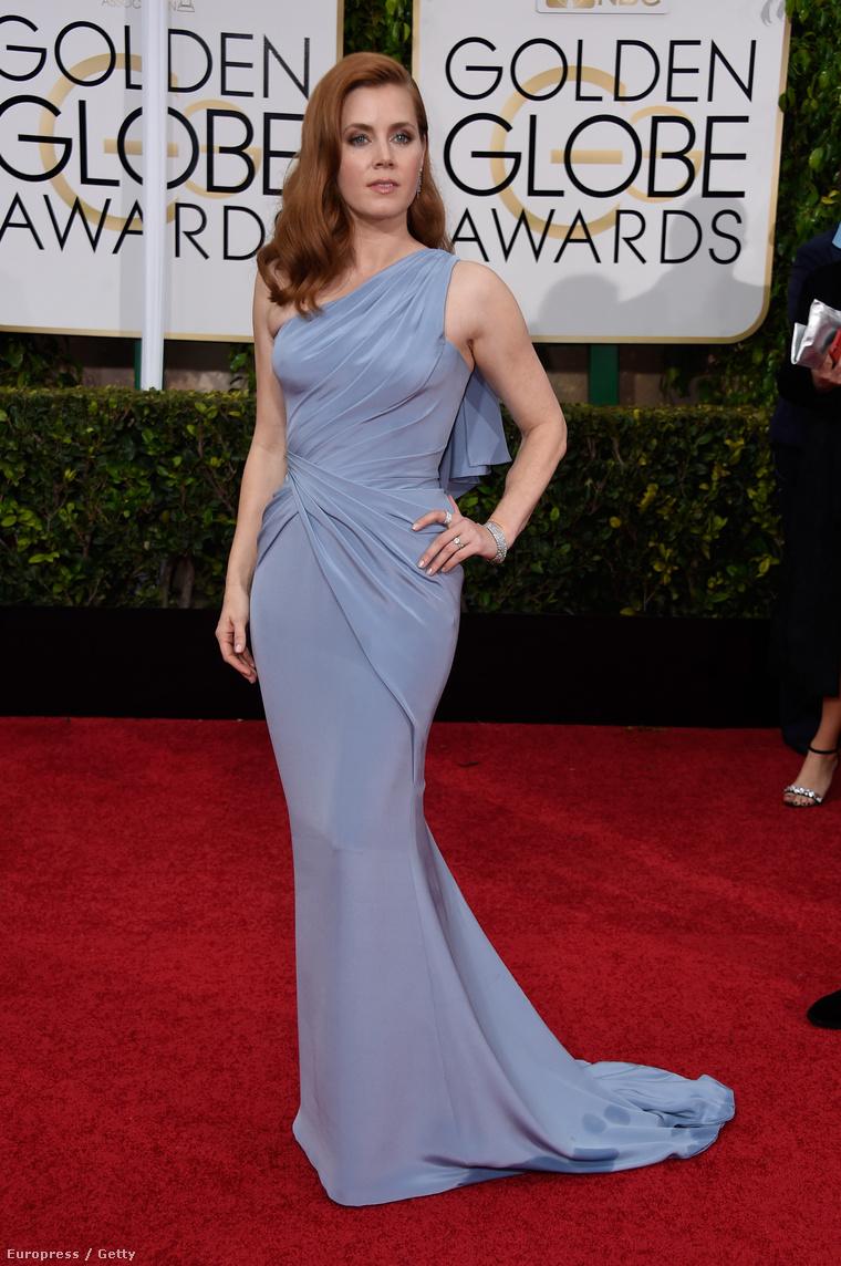 Amy Adams kölcsönzött ruhájáért 3,46 millió forintnyi dollárt fizetett a stúdió.