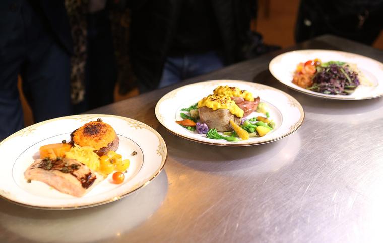 Ilyen ételeket tesznek a Golden Globe-estély résztvevői elé.
