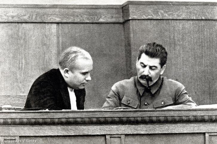 Hruscsov és Sztálin, 1936-ban.
