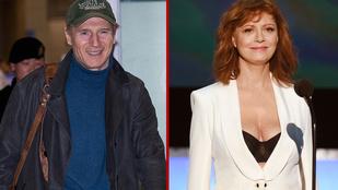 Liam Neeson barátnőrejtély: legtöbben Susan Sarandonra fogadnak