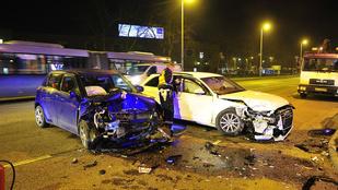 Durva baleset a Nagytétényi úton, egy kisgyerek is megsérült