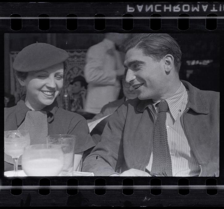 Robert Capa és Gerda Taro