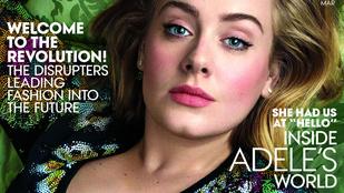 Adele a Vogue-ban mutatta meg, hogy mennyit fogyott