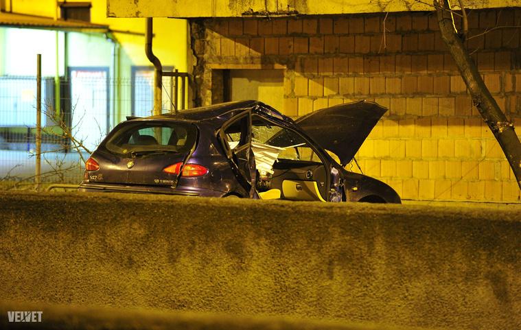 Halálos baleset a XVIII. kerületben.