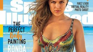 Rég látta már Ronda Rousey összefestett melleit? Ez az ön napja!