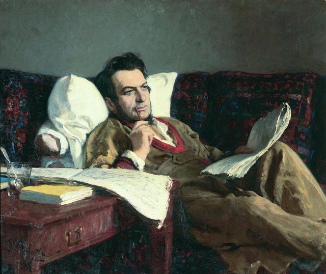 Mihail Ivanovics Glinka Ilya Repin festményén