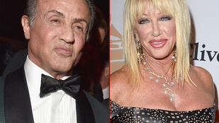 Sylvester Stallone arcánál csak Suzanne Sommersé a simább