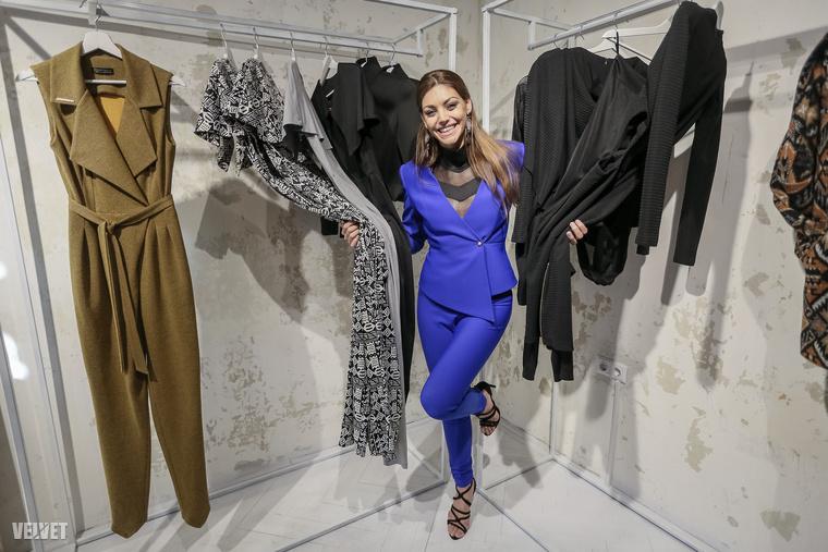 Kulcsár Edina, és néhány ruha, amelyeket tervezett