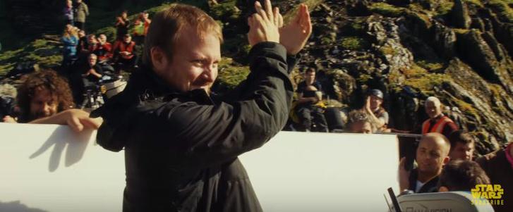 Rian Johnson ünnepélyesen megkezdte a Star Wars 8 forgatását aSkellig Michael sziklaszigeten