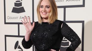 Adele azért elég sokat fogyott