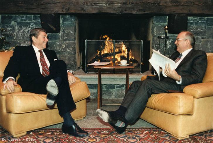 Reagan és Gorbacsov