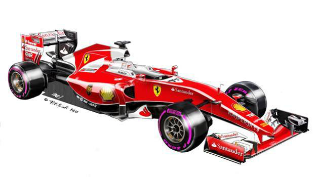 A Gazzeta dello Sport ilyennek képzeli az új Ferrarit