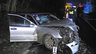 Hármas baleset Mogyoród és Szada között, ketten is súlyosan sérültek