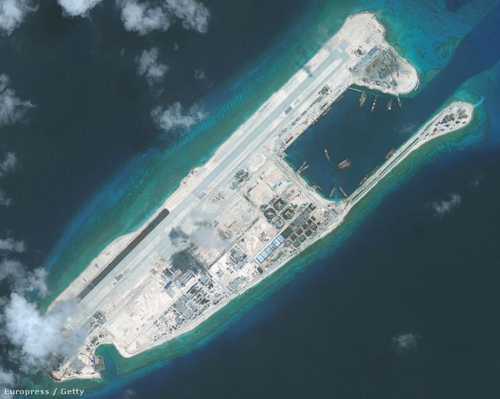 Műholdkép a szigetekről