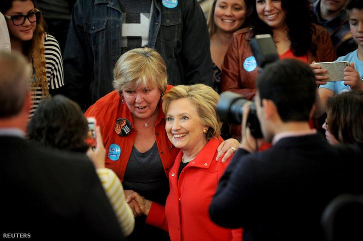 Hillary Clinton kampányol Renoban, Nevada államban, 2016. február 15-én.