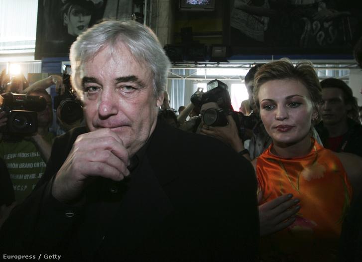 Andrzej Żuławski 2006-ban a Moszkvai Filmfesztiválon