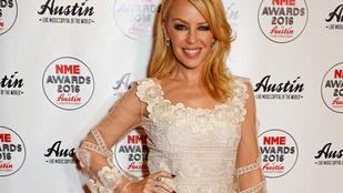Kylie Minogue imádja a Coldplayt
